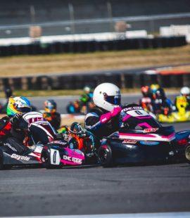 IONIC Edge Junior racer Carter Pryor (No. 0)