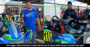 mgm kart racing chassis