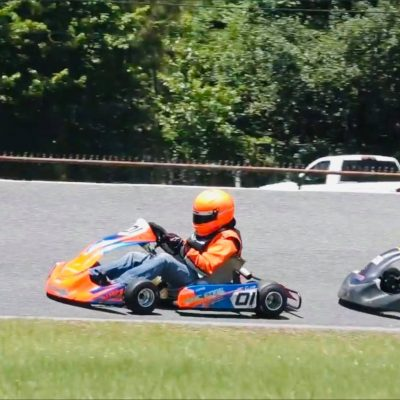 Chris Cline at Jacksonville (Cup Karts South)