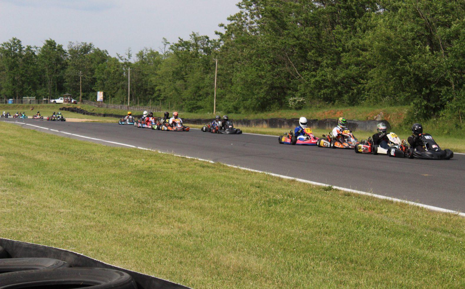 CIK LO206 Senior racing Sunday, May 23 at Summit Point