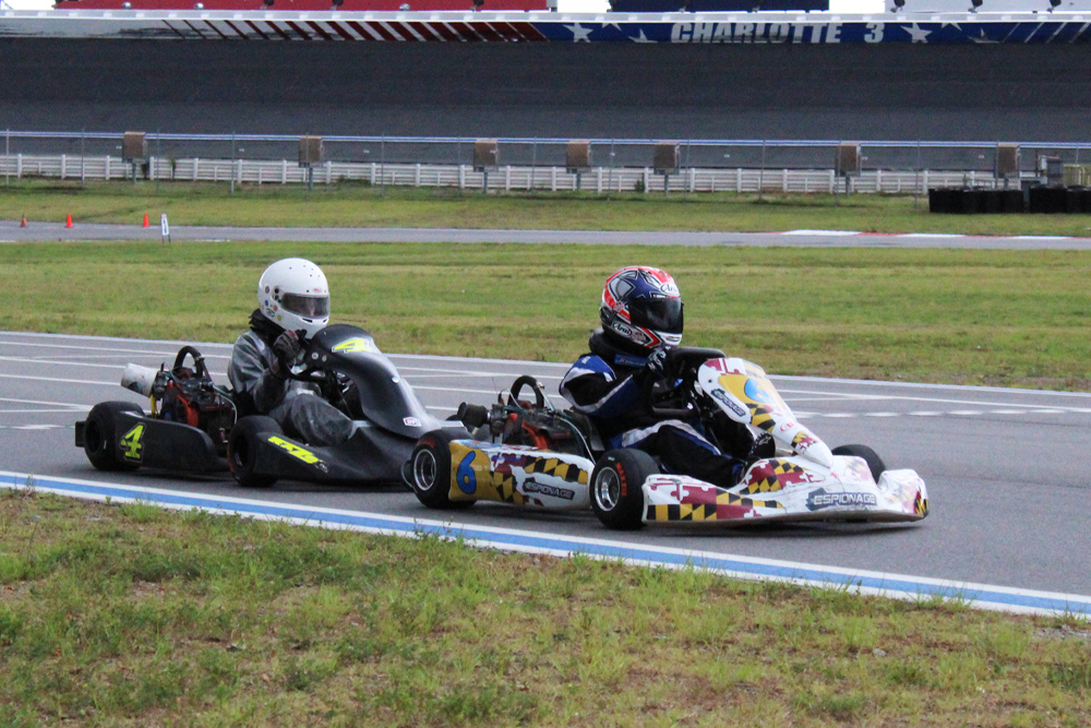 Brady Atwood and Peyton Bridges raced hard all weekend in Junior