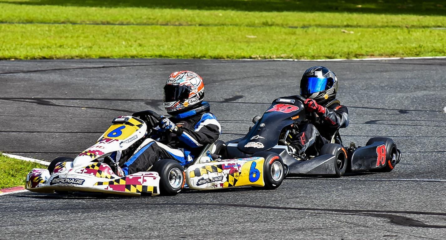Junior winners Brady Atwood (6) and Mason Donahue (Full Throttle Photography)