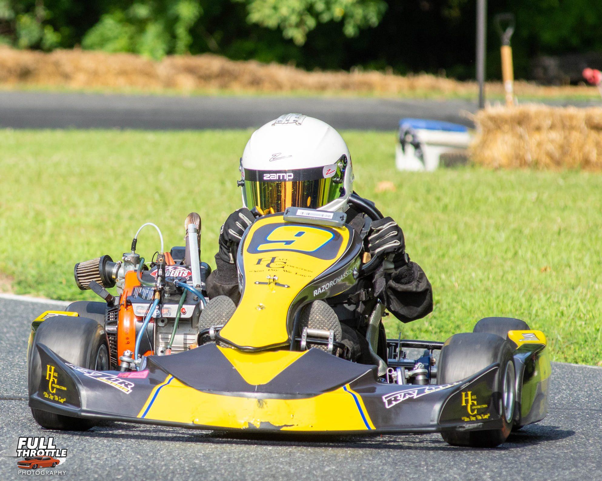 LO206 Kid Kart winner Ryan Hall (Full Throttle Photography)