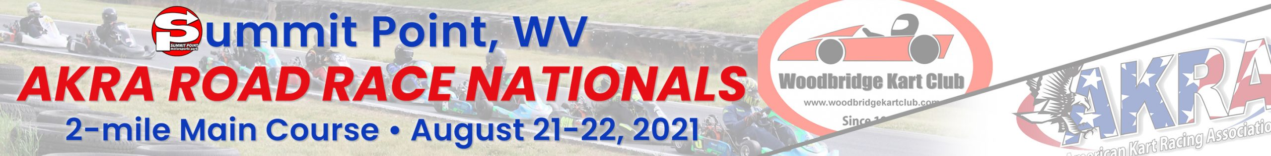 Summit Point AKRA Road Race Nationals August 21-22, 2021