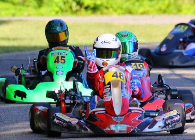 2021 CKNA North Junior champion James Overbeck (Rocket Gear Media)