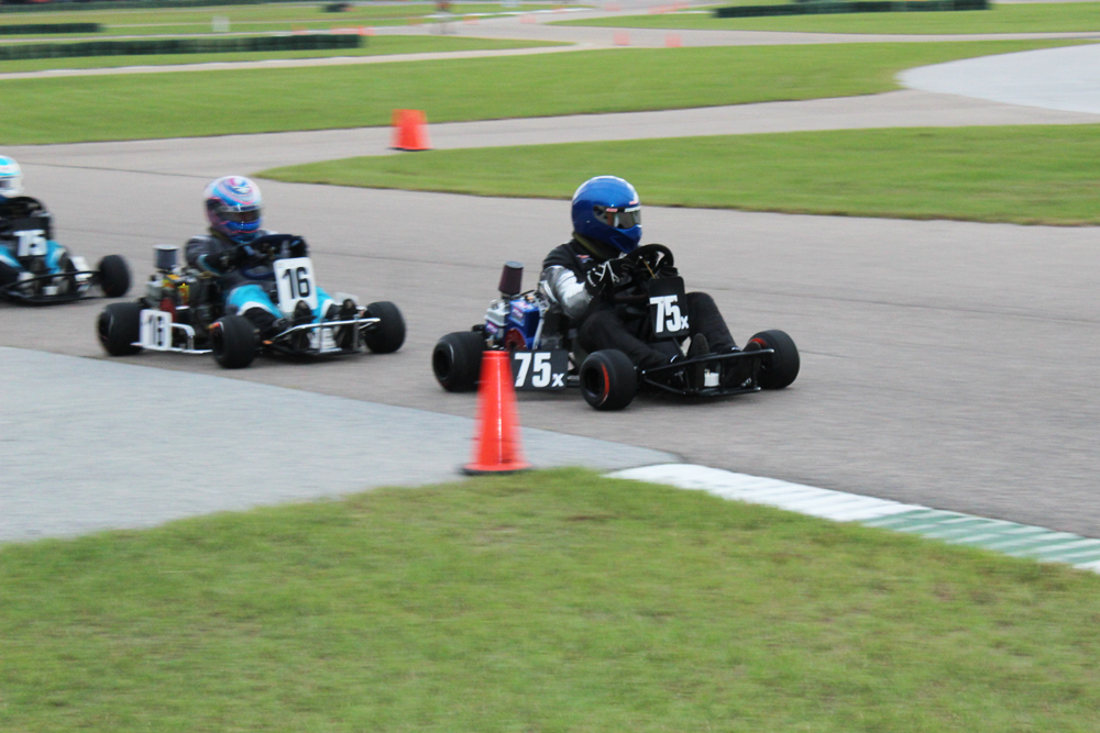 Vintage Stock victors Billy Johnson (75x) and Tyson Swann (16)