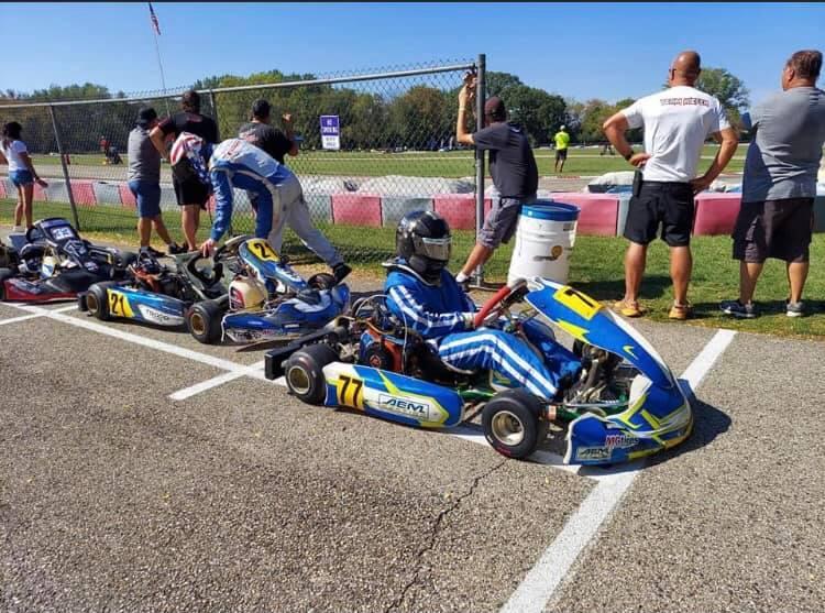 Jerry Fandrey on grid at Dousman