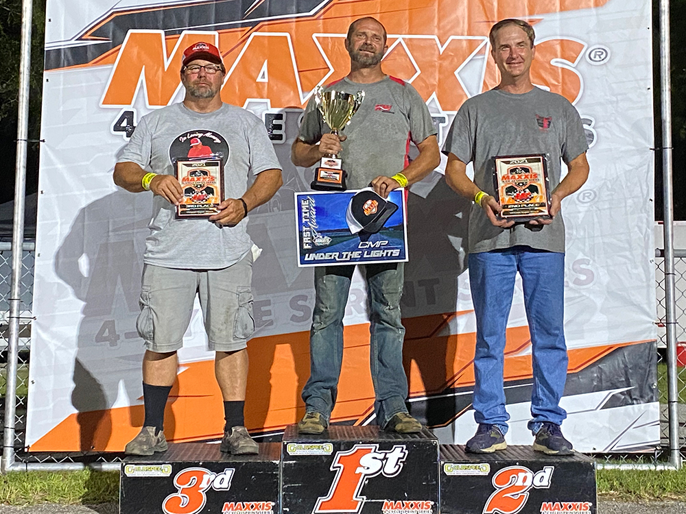 Kenny Buff never lost a Super Stock race in 2021, including his win at CMP
